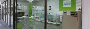 Boutique de vapo situé au carrefour Les Saules